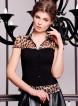 леопард-черная отделка