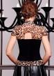 Цвет: леопард-черная отделка