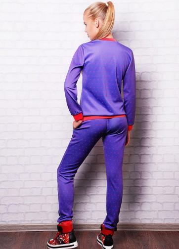 """Яркий спортивный костюм с принтом """"Лондон"""""""
