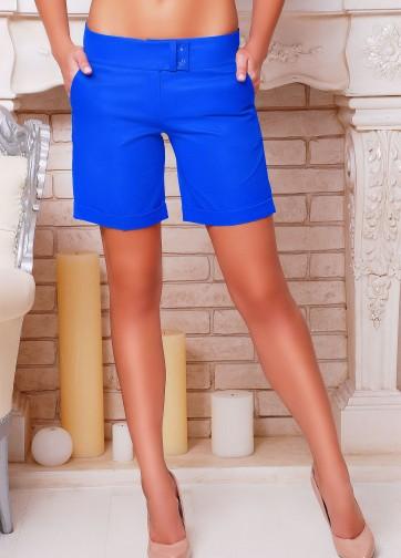 Классические брюки-шорты прямого кроя со стрелками